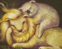 Lion & Koala