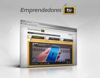 Emprendedores Tv - Website Project