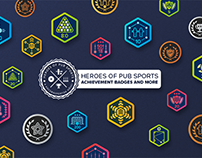 Heroes of Pub Sports – Achievement Badges and more