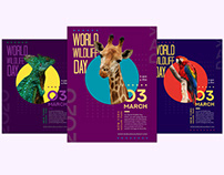 Wildlife Day Free Flyer Template