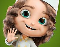 Minicheff - Mascote 3D