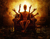 Antimatter - Black Market Enlightenment Cover Artwork