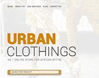 URBAN AND APA CLOTHING | GOLD | DESIGN | GRAPHICS