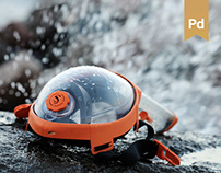 THE PERISCOPIC MASK | SNORKELING | PRODUCT DESIGN