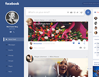 Facebook Redesign Try