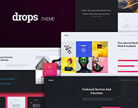 Drops Creative Template (Keynote)