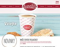 CrossCafe webdesing - template