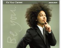 Boston University Recruitment Print Campaign