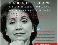 Harvard University Recruitment Campaign