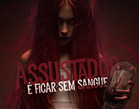 Campanha Halloween 2019 - Hemocentro de Brasília