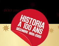 Historia 100 ans - Un siècle et cinq générations
