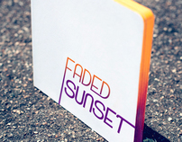 Faded Sunset - book cover