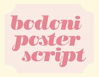 Bodoni Poster Script