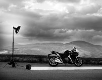 2012 Honda Catalog Photoshooting - Backstage