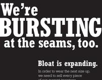 Bloat Advertisement