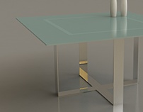 CROSS Dining Table Design Juan Pablo Roca para MISURA