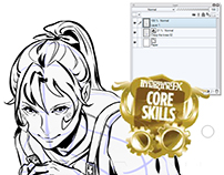 ImagineFX Core Skills Workshops: Clip Studio Paint