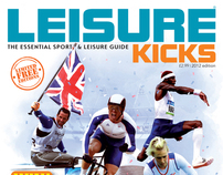 Leisure Kicks Special Olympic Magazine cover 2012