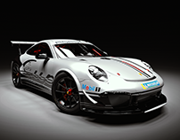 Porsche GT3 Cup - 3D Render