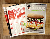 Spice up your lunch. Scout London.