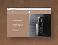 Distillery Keckeis - Website/UI