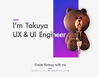 takuya yamamoto personal page - 日本語ver -