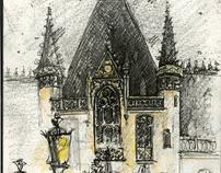 Europe Travel Sketchbook