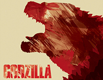 Godzilla the Movie Poster