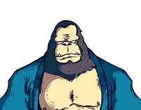 Skrap Pack-Gorilla-Jiu Jitsu