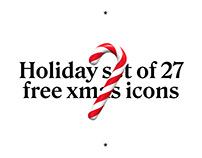 Free xmas 3d icons