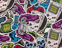 Dead Gaming Vinyl Stickers Pack