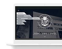 Redesign strony internetowej UP