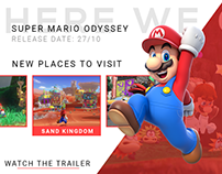 Cover Page - Super Mario Odyssey
