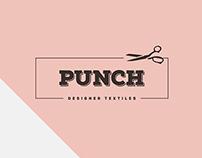 Punch Designer Textiles brand design 2015