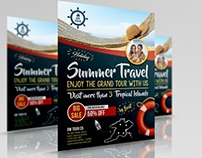 Tour and Travel Flyer Template Vol.2