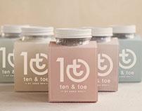 Ten & Toe Branding