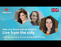 Adobe Live from the sofa UK with Rachael Presky