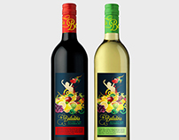 Sangria Label Design