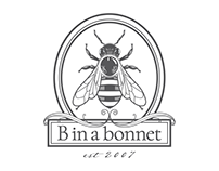 B in a bonnet Branding