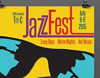 2015 Tri-C Jazz Fest Poster