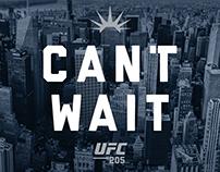 UFC 205 EVENT BRANDING