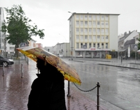 A rainy day in Ruesselsheim