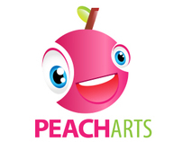 Peach Arts - Logo Design