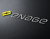Enage - branding and website design