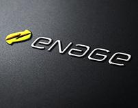 Enage - branding and website design