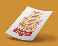Tri City Brewing Company Branding and Packaging