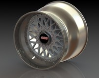 BBS RS Wheel Model