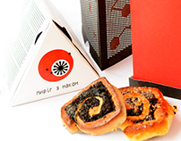 Illusory packaging design for poppy seed rolls