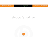 Bruce Shaffer Creative/Brand Strategist