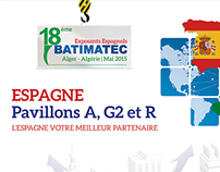Batimatec Expo 2015, Exposants Espagnols